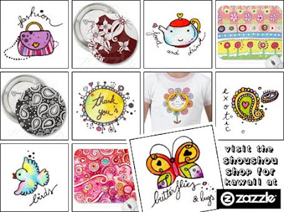 ShouShou Shop at Zazzle