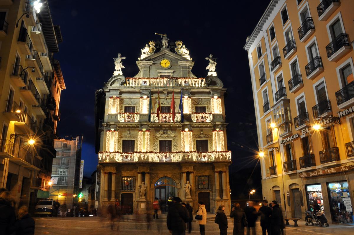 Pamplona iru a navarra iv diarios de una bicicleta - Pamplona centro historico ...