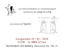 Exposition Typote / Loup et Ling