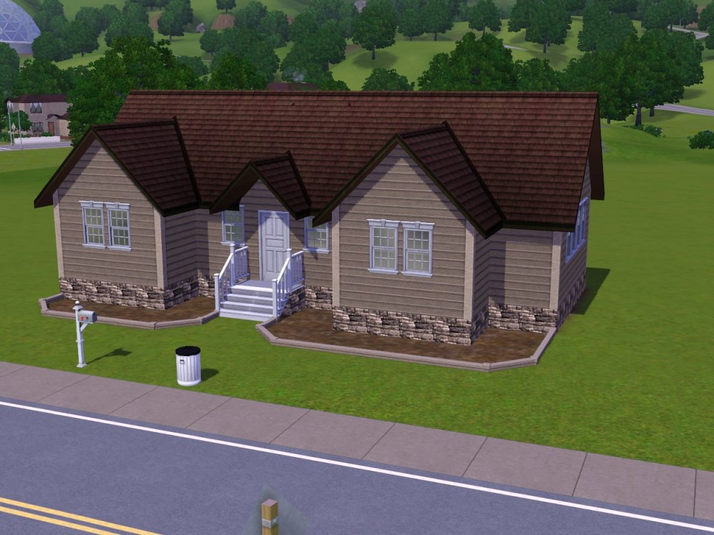 Sims 3 build simple house joy studio design gallery for Simple sims 3 house plans