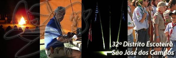 """32 Distrito Escoteiro """"São José dos Campos"""""""