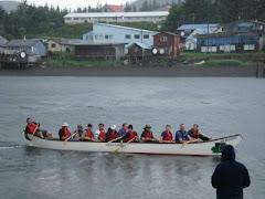 Chums Canoe Race