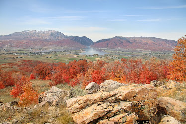 Fall in the ogden valley