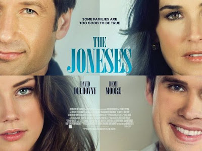 We've got our hands on a first preview clip of The Joneses, the