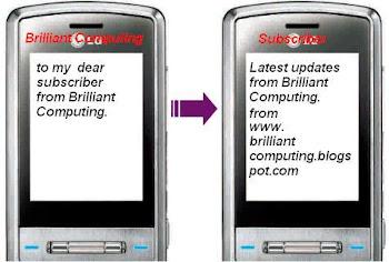 Get updates via SMS