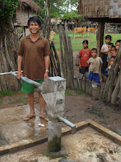 Naiban of Phounmarkmy at a Handicap International Water Well