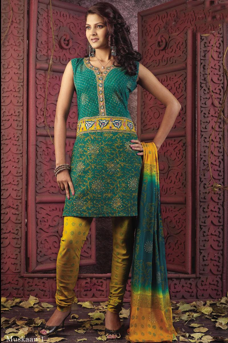 salwar kameez hr125 - ~Mehndi Dresses 4 Dulhan ;;)~