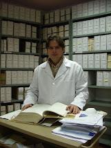 Archivero Municipal y secretario de MEHS