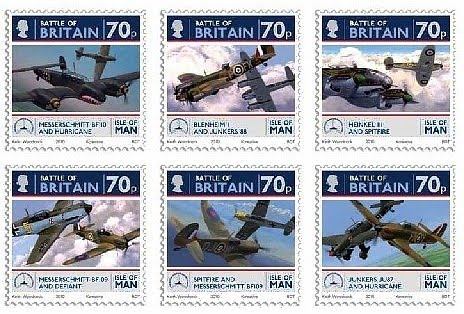 Battle of Britain Stamps Battle of Britain Stamps From