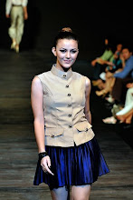 Juliana Evans in ANIZAM YUSOF 'The Stud Squad' M-IFW 08