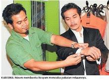 Rosyam Nor in ANIZAM YUSOF, from Berita Harian.