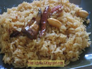 imarli rice, tamarind rice, chinchecha bhat, imali bhat