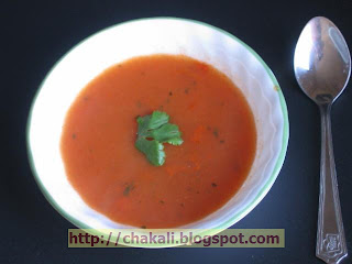 Tomato Soup, Tomato Soup Recipe, Tomato Recipe, Tomato saar, healthy soup recipe, vegetarian soup recipe, veggie soup recipe