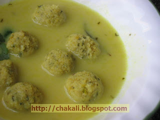 Kadhi Gole, Recipe for Kadhi Gole, Kadhi gole recipe, kadhi gola recipe, maharashtrian recipe, low calorie food, low cholesterol recipe,buttermilk curry