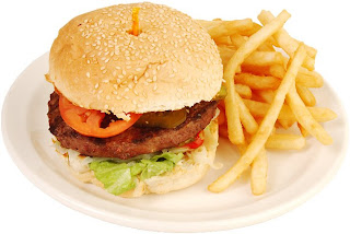 Burger and french fries are killer of the baby, Delicious food is harmful for mothers