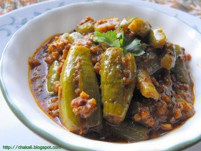 kundri, kundru, kowai, kovai, kovakkai,kovakka, Bharwa Tindora, Stuffed Ivy Gourd, Maharashtrian Food,
