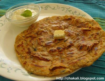 pudina paratha, paratha recipe, punjabi paratha