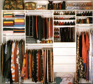 how to declutter clothes closet, how to make closet clutter free