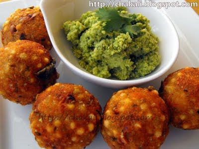 sabudana vada, upasache padarth
