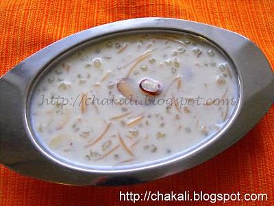 sabudana kheer, sevai kheer, semai kheer, kheer recipe, payasam