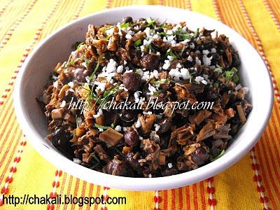 banana flower recipe, kelfulachi bhaji, केळफुलाची भाजी, kelfulachi bhaji, kelful recipe,