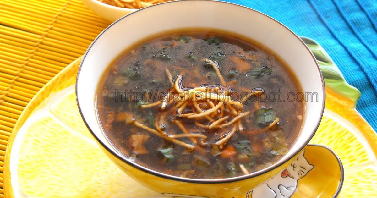 mushroom soup recipe in marathi