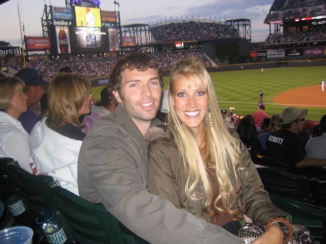 Kevin and Kerry at the Rockies game