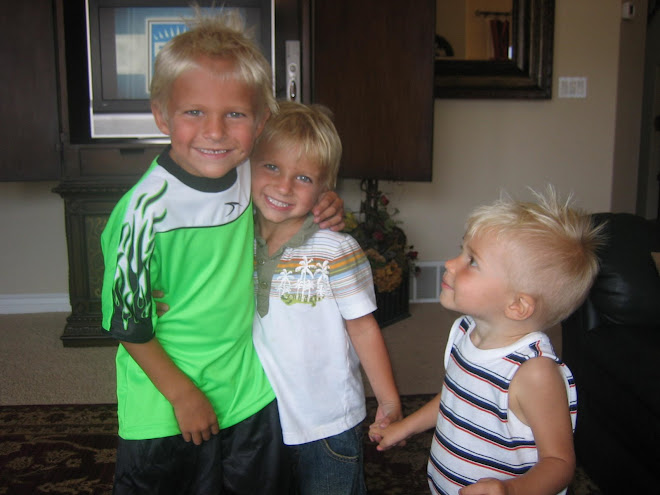 With cousins Cody and Carter