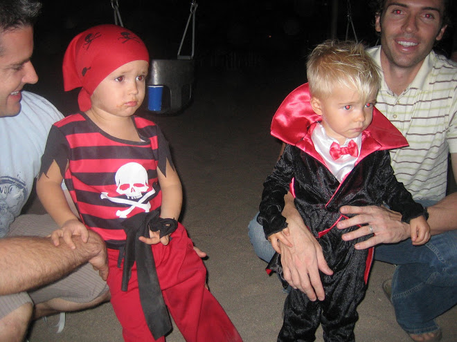 His trick-or-treating buddy Austin
