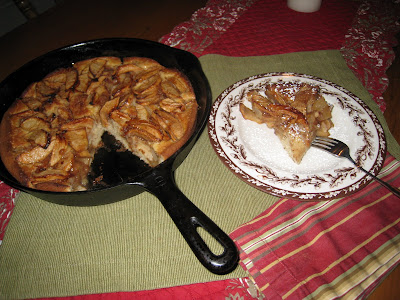 My Mother's Apron Strings: An Apple Cake in Mom's Cast ...
