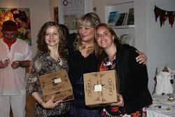 Ganadoras del premio anual a la asistencia perfecta