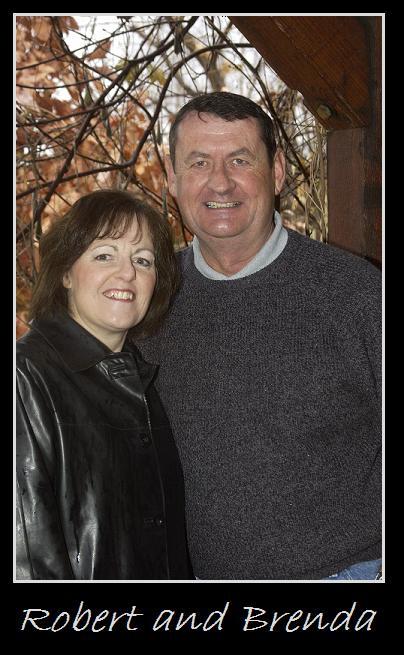 Robert and Brenda