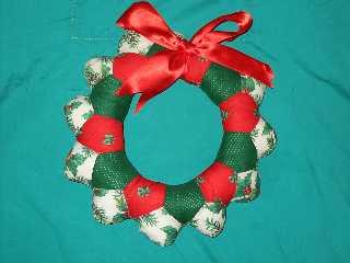 Manualidades rubi diciembre 2007 for Adorno navidad puerta entrada