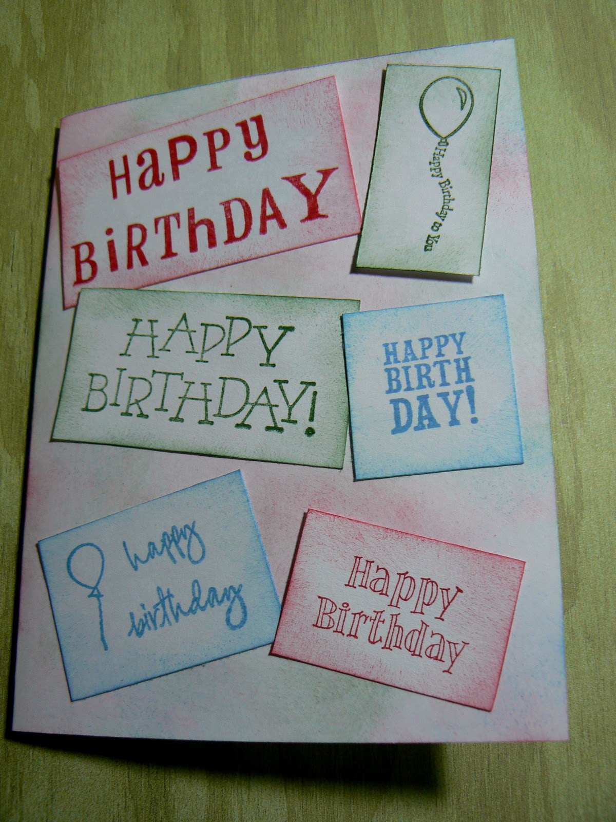 How To Make Homemade Birthday Cards For Mom