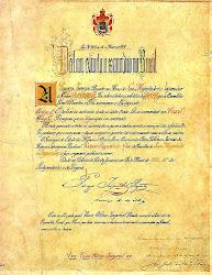 Carta da Lei Aurea