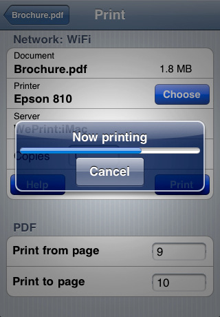 Print n Share for advanced printing Version 4.2.1 iPod Touch iPhone iPad