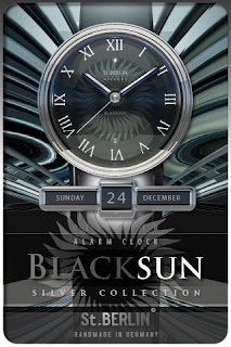IPA App alarm clock designer watch iphone  ipod touch BLACKSUN 1.23