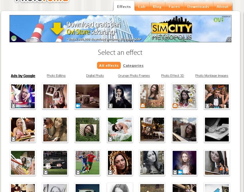 sHe_fHa's Blog: Cara Ngedit foto secara Online