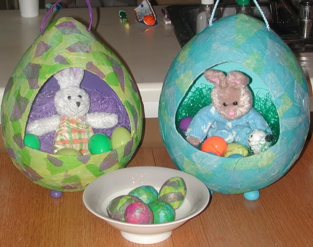 Block party press easter egg basket tutorial negle Gallery