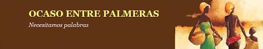 OCASO ENTRE PALMERAS