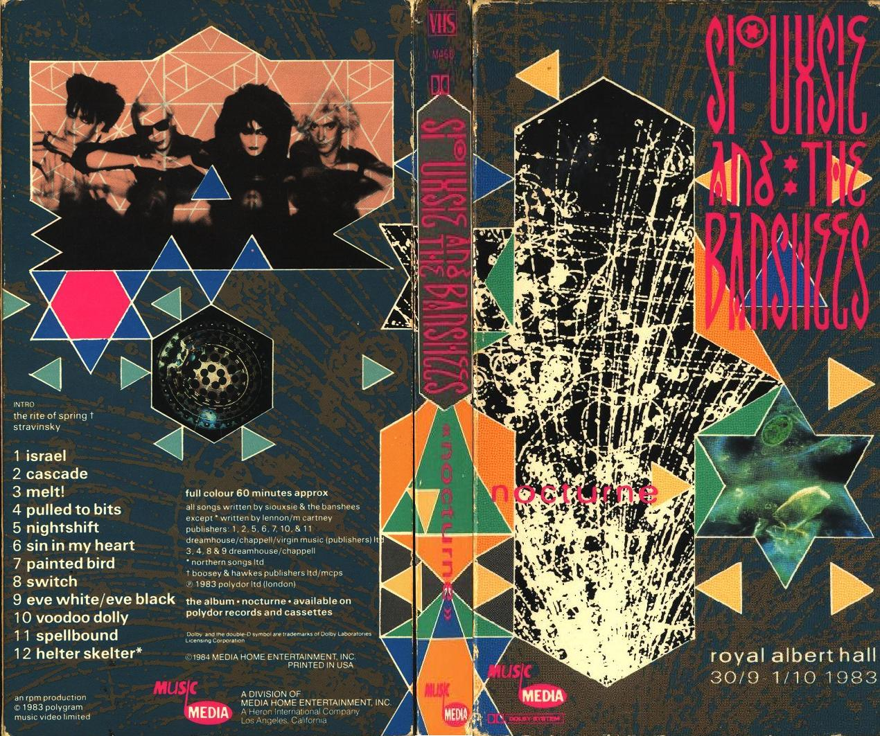 siouxsie and the banshees nocturne