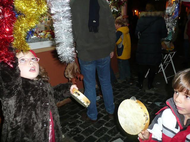 Pandereta Espumillón Navidad Madrid