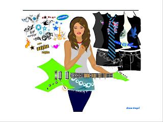Gitarcı Kız Konser Oyunu