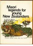 Read a Maori Legend