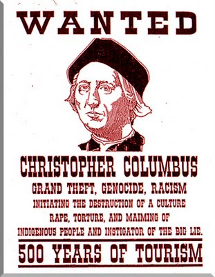 ... of paper write the following: Christopher Columbus: Hero or Villain