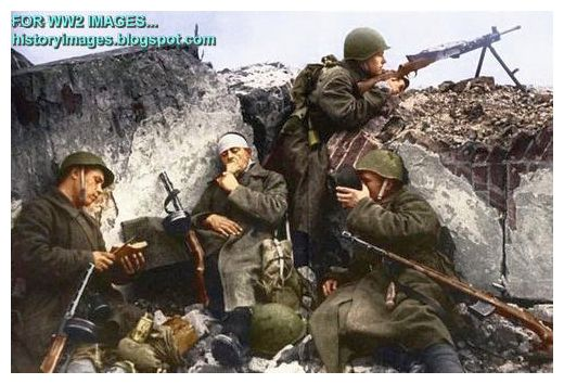 HISTORY IN IMAGES: Pictures Of War, History , WW2: Color pictures