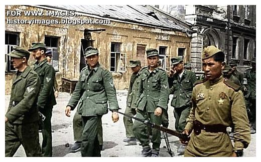 German POW In Russia