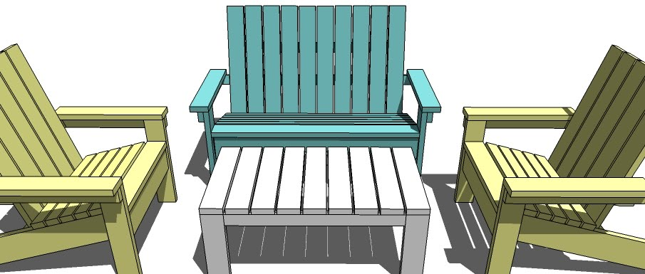 adirondack chair plans kids free