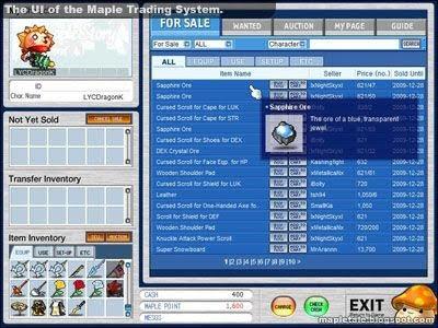 Maple trading system shutdown