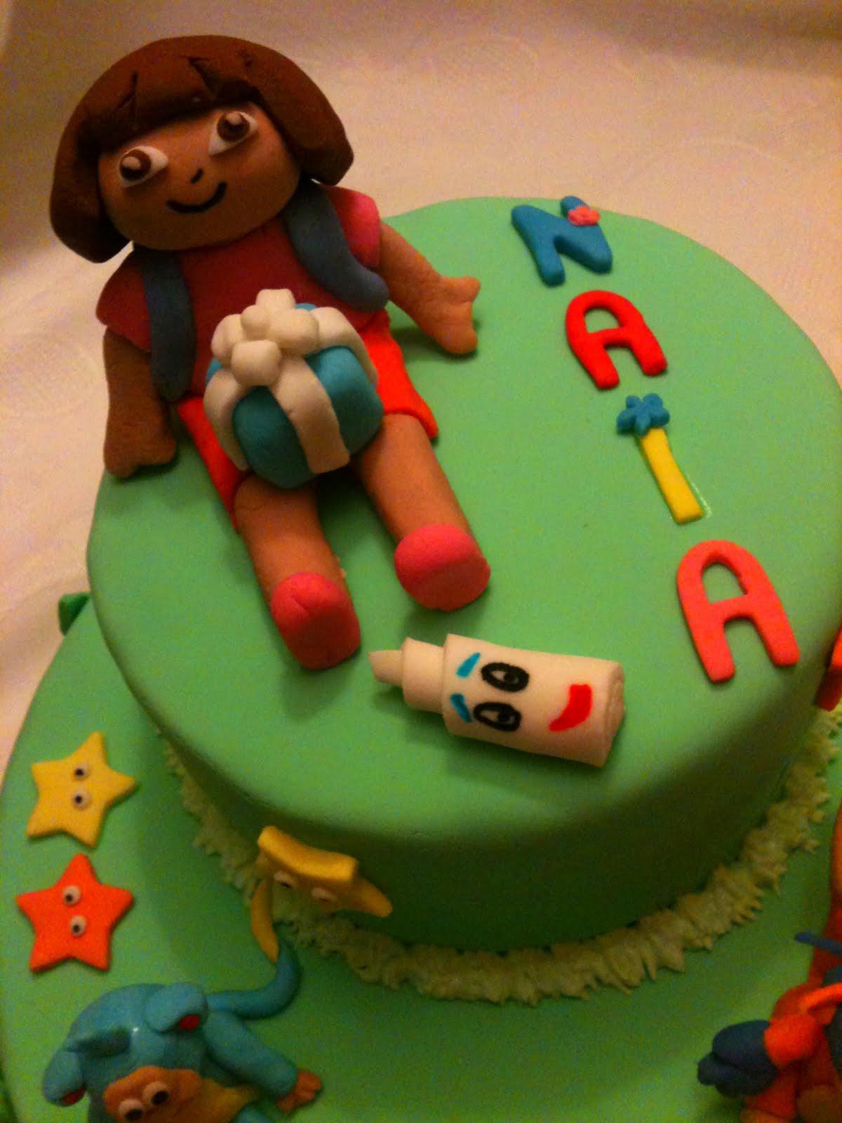 Cocina de color lila tarta dora la exploradora - Dora la exploradora cocina ...
